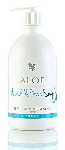 aloe hand and face soap