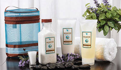 Forever Living Aroma Spa Collection