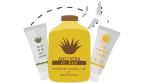 buy aloe vera gel products from arounf the world